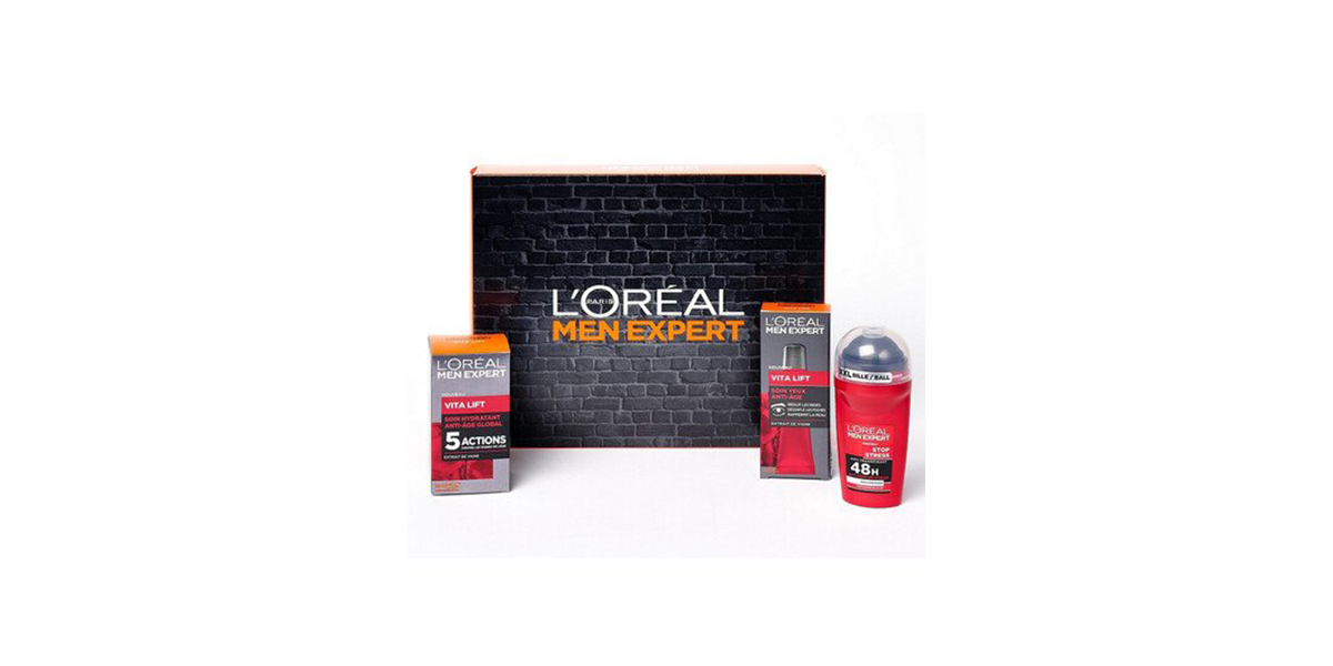 Coffret Men Expert Vita Lift L'Oréal