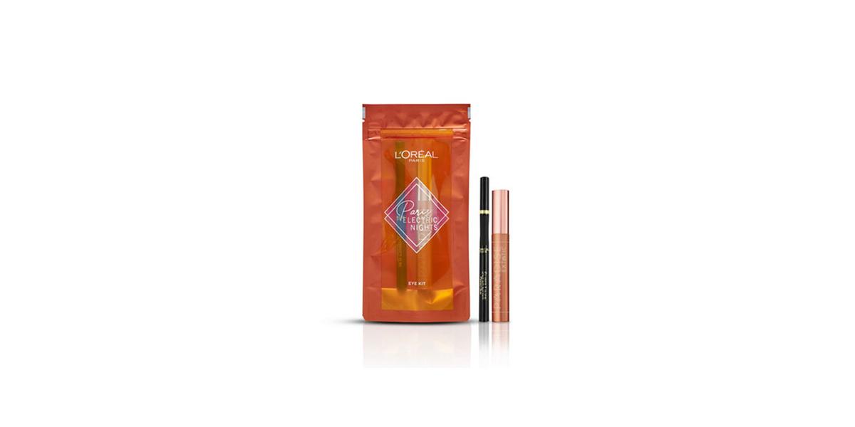Kit yeux mascara et liner Paris Electric Nights L'Oréal