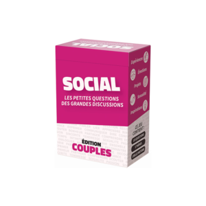 Jeu de cartes Social Couples