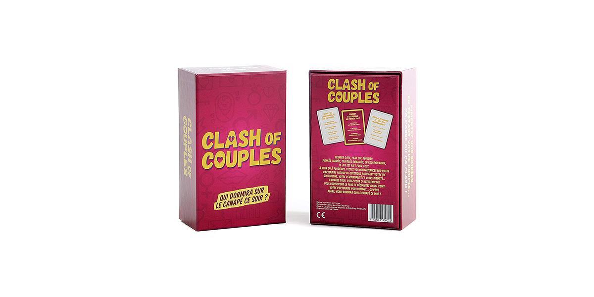 Jeu de cartes Clash of couples