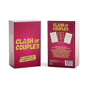 Jeu de cartes Clash of couples