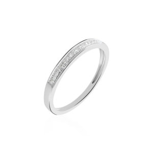 Alliance Divya or blanc diamant