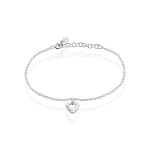 Bracelet Cenydd argent blanc