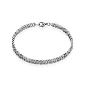 Bracelet Frederic acier blanc