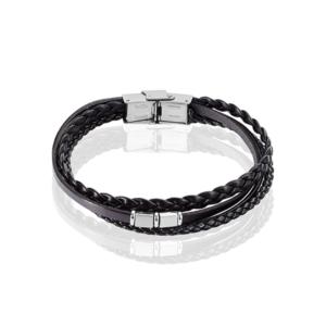 Bracelet Romain acier blanc