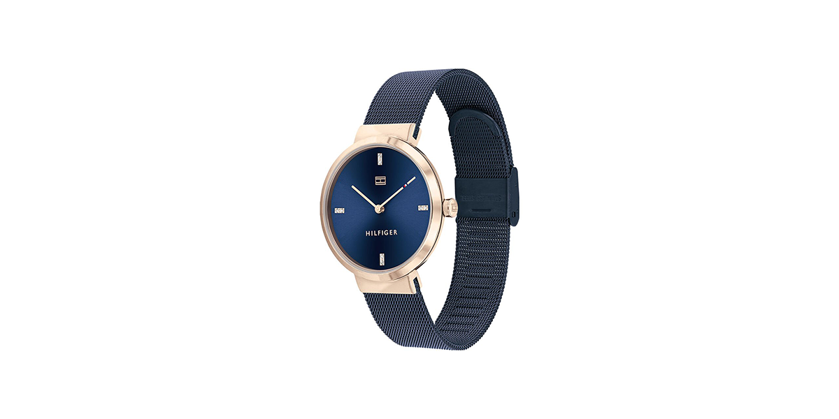 Montre Luberty bleue Tommy Hilfiger