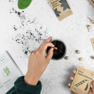 contenu box a planter jardinage cadeau saint valentin