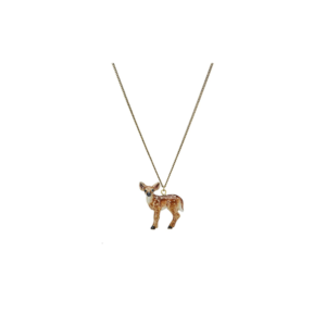 Collier pendentif Bambi en porcelaine And Mary