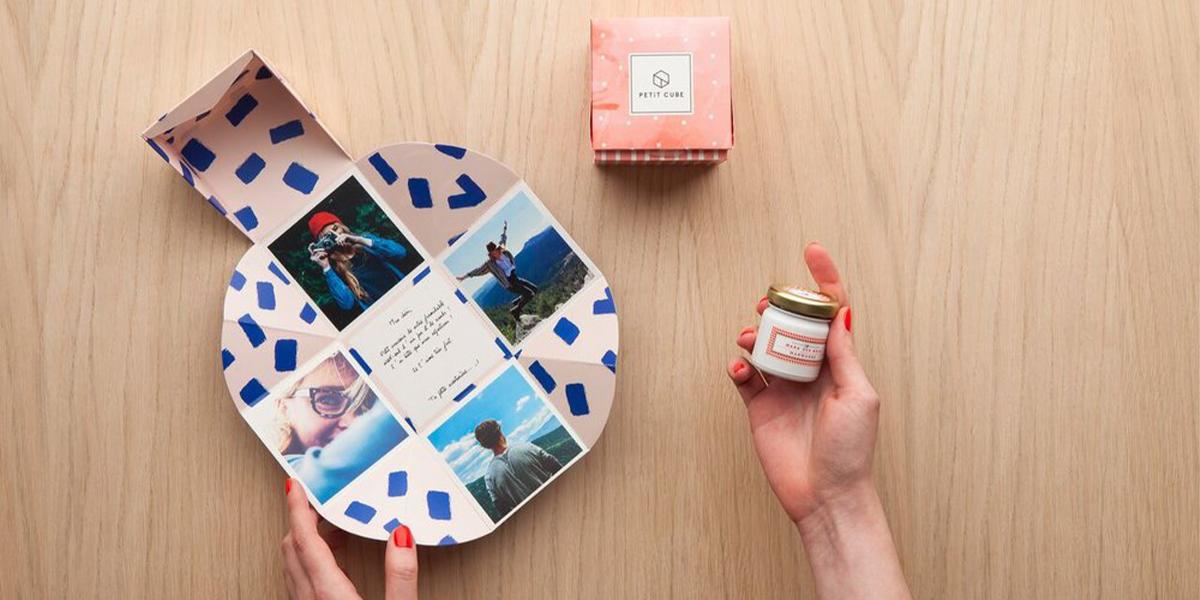 Cadeau Personnalisé Le Petit Cube