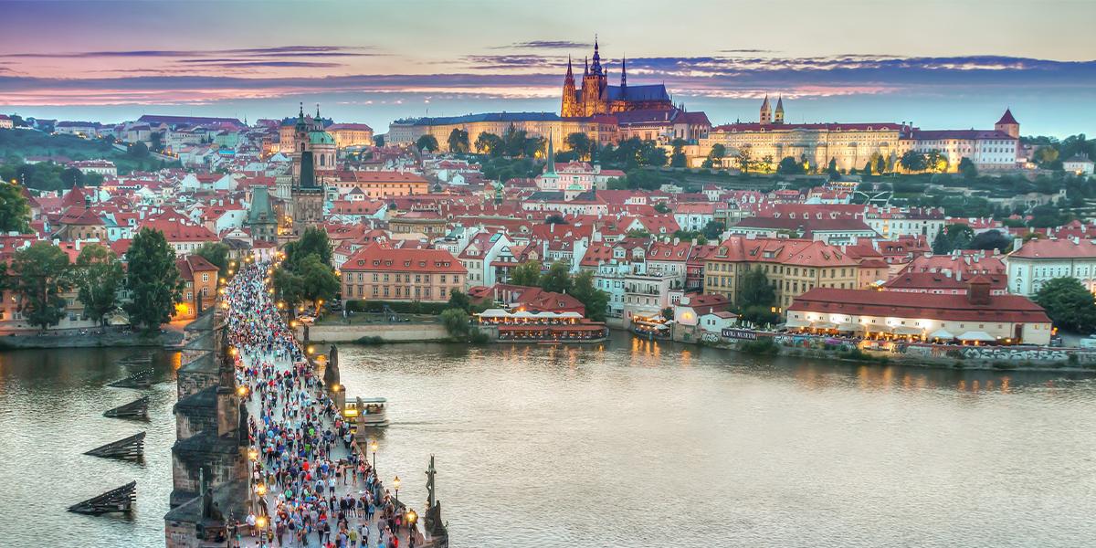 Week-end romantique à Prague