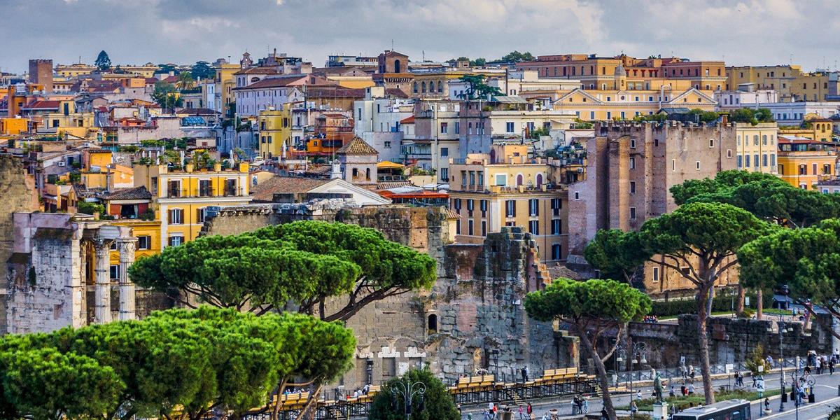Week-end romantique à Rome