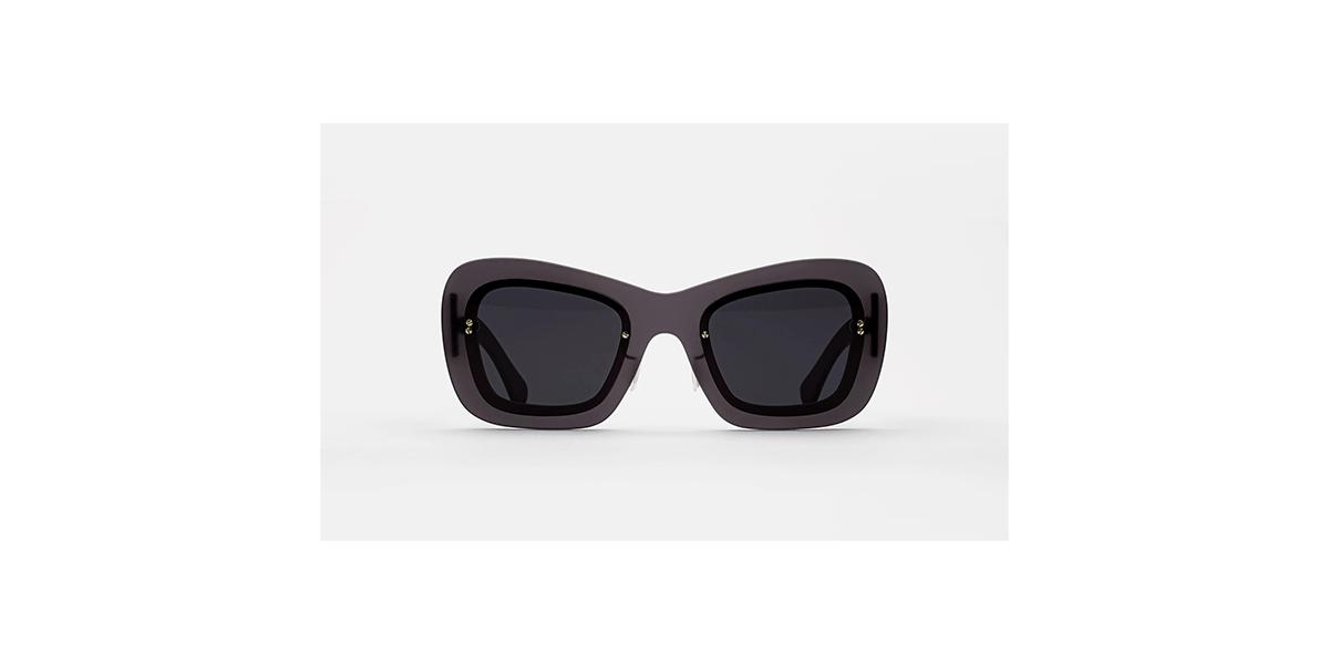 Paire de lunettes de soleil Tuttolente layers retrosuperfuture