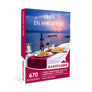 Coffret Cadeau Gastronomie Dîner en amoureux Dakotabox