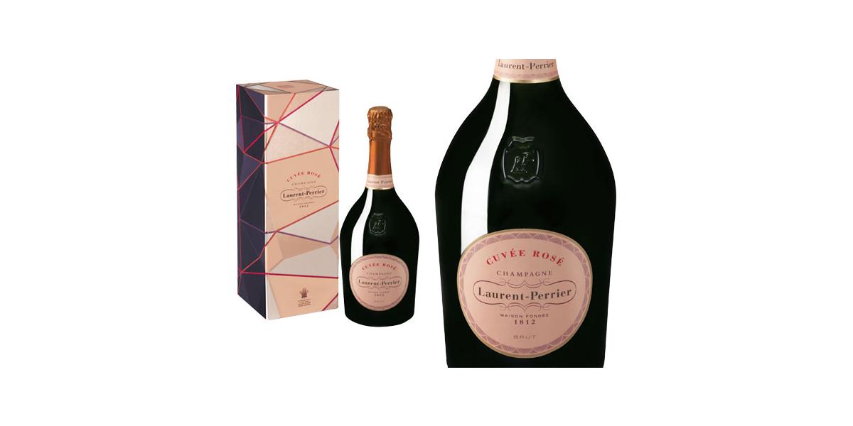 Champagne Laurent-perrier Cuvée Rosé Brut Coffret Ruban