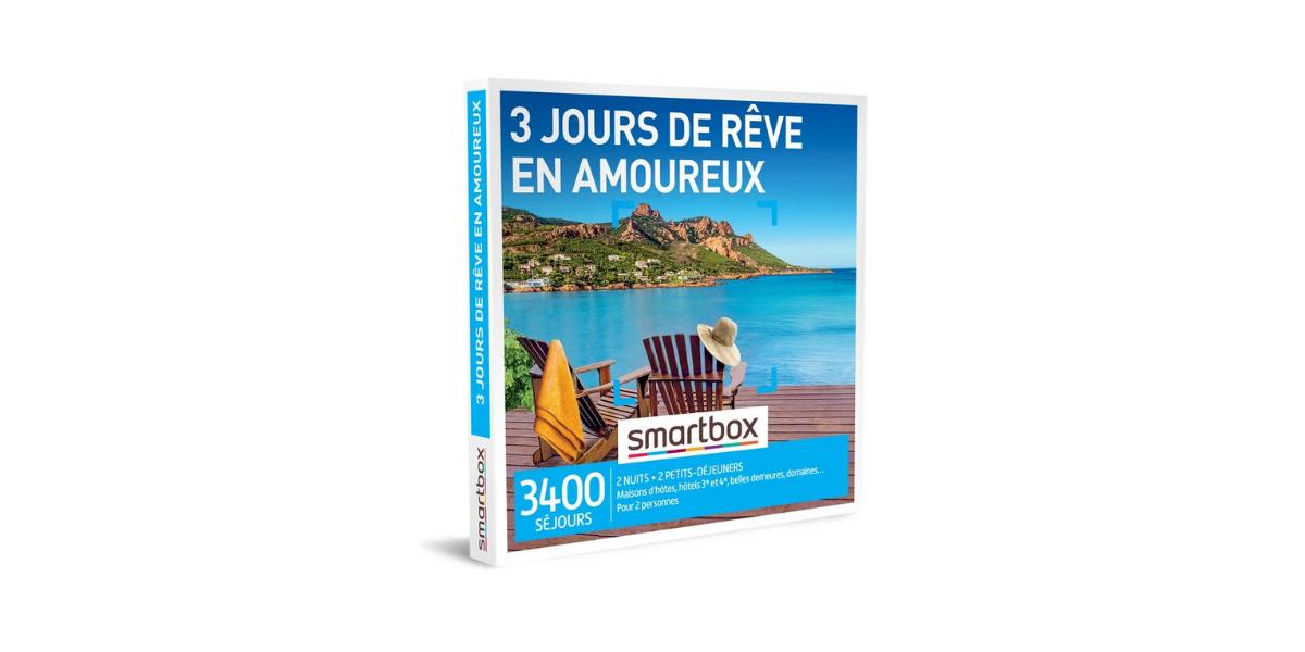 smartbox séjour de rêve en amoureux