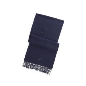 écharpe bleu marine pour homme marque Polo Ralph Lauren