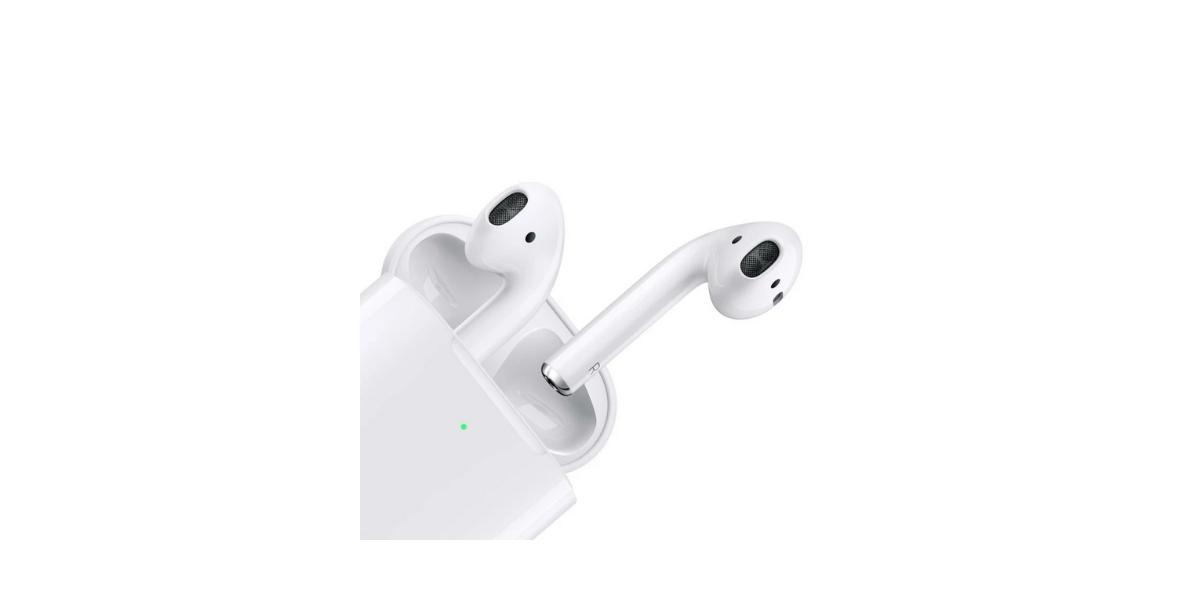 écouteurs sans fil AirPods 2 avec boitier de charge Apple