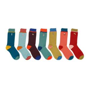 Semainier de chaussettes sport